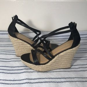Nine West Jute Wedge size 7